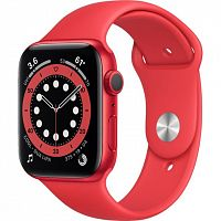 Смарт-часы Apple Watch Series 6 GPS 44mm (PRODUCT)RED Aluminum Case w. (PRODUCT)RED Sport B. (M00M3) Новинка